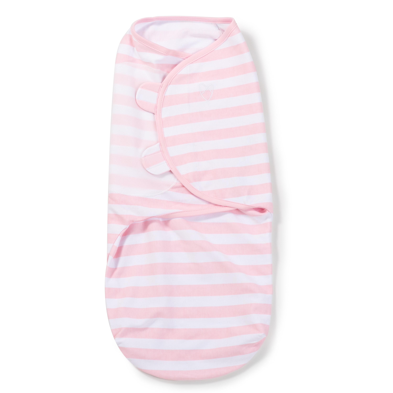 Summer Infant SwaddleMe zavinovačka - růžový-bílý proužek velikost: L (6,4-8,2Kg)