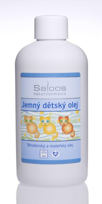 Saloos Bio Jemný dětský olej 250 ml - výhodné balení