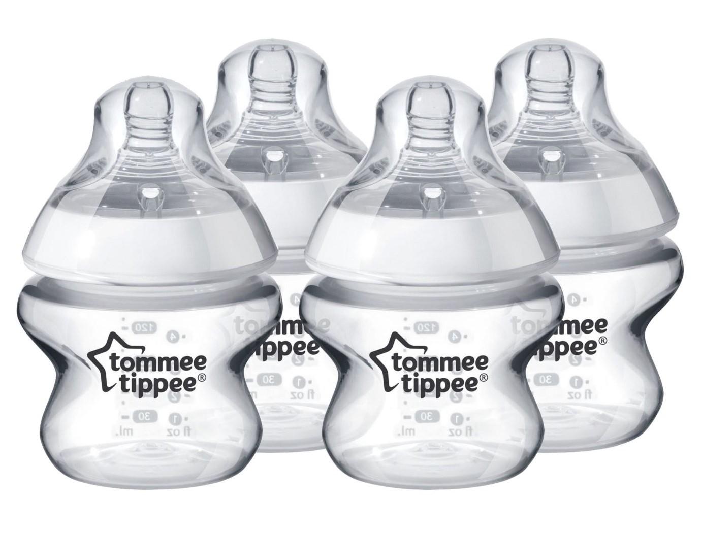 Tommee Tippee Kojenecká láhev C2N, 4ks, 150ml, 0m+