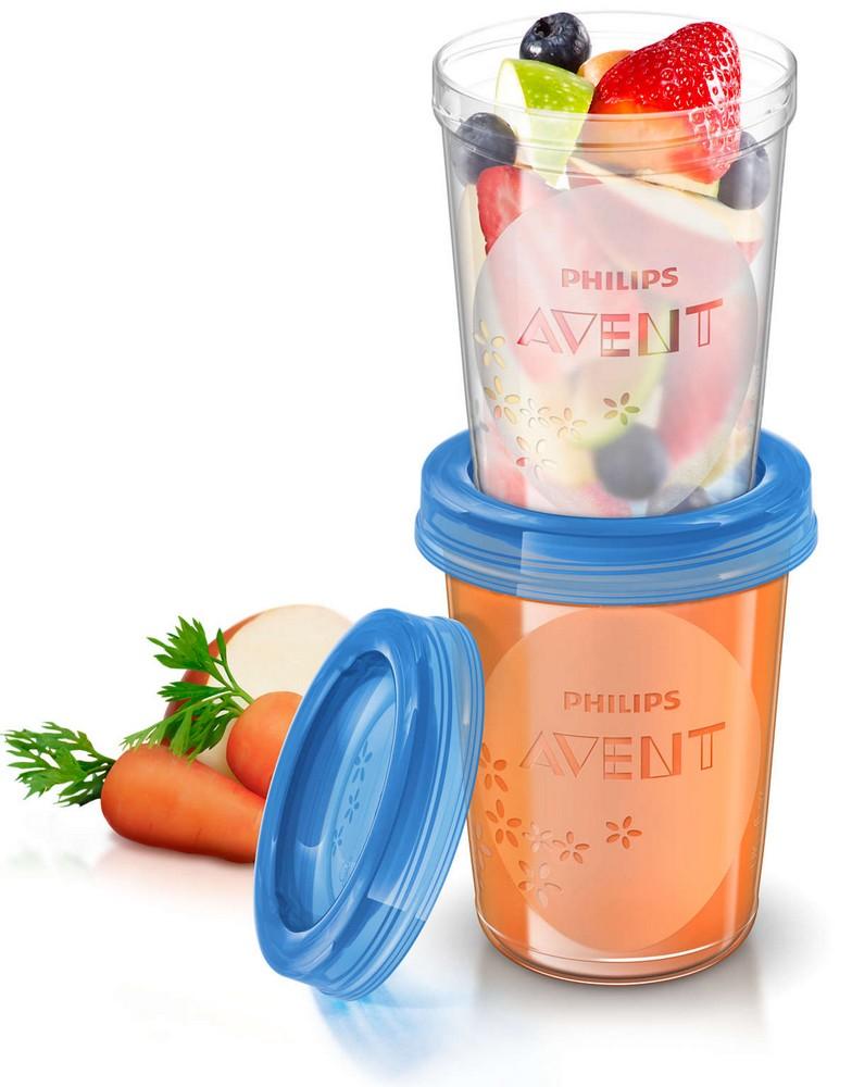 Avent VIA pohárky s víčkem 240ml, 5ks