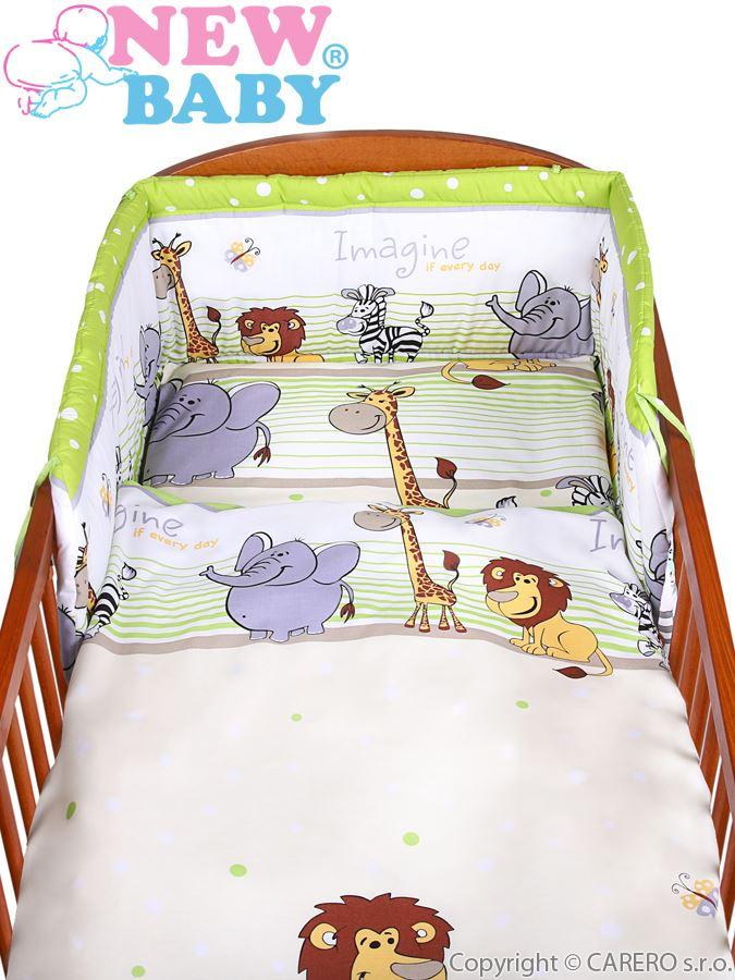 New Baby 2-dílné povlečení - Safari velikost: 100x135cm