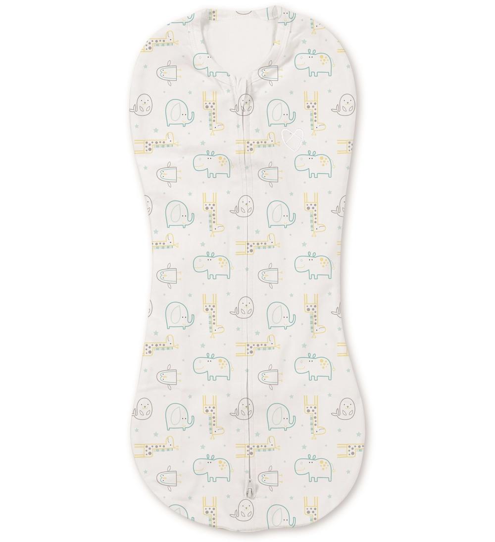Summer Infant zavinovačka pro novorozence SwaddlePod - zoologická zahrada
