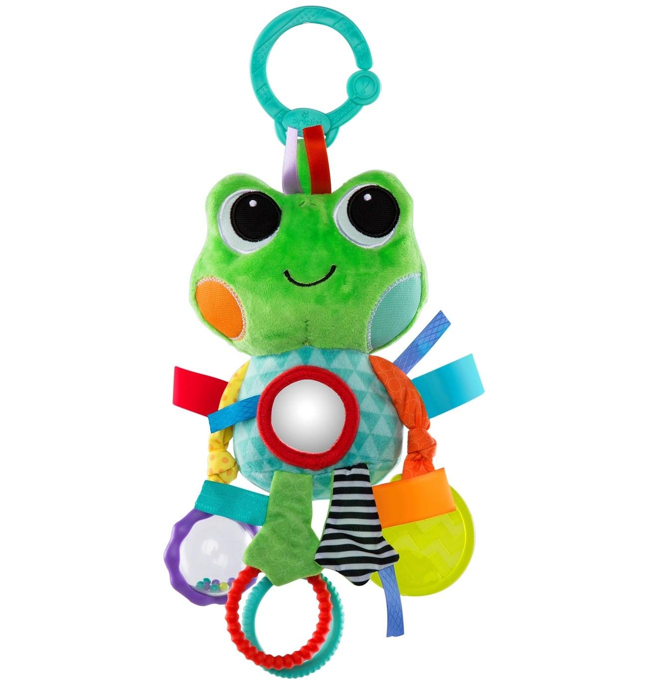 Bright Starts hračka na C kroužku Playful Pals žába 0m+