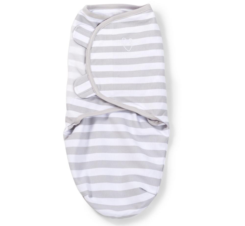 Summer Infant SwaddleMe zavinovačka - šedý proužek velikost: L (6,4-8,2Kg)