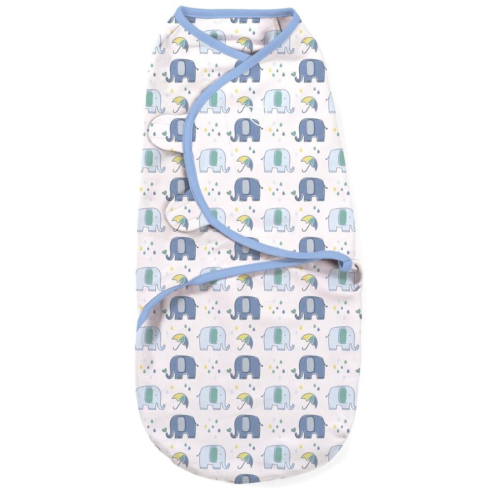 Summer Infant SwaddleMe zavinovačka - sloníci velikost: S (3,2-6,4kg)