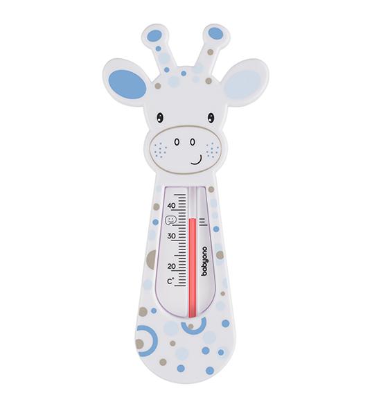 BabyOno Teploměr do vody - žirafa barva: bílá