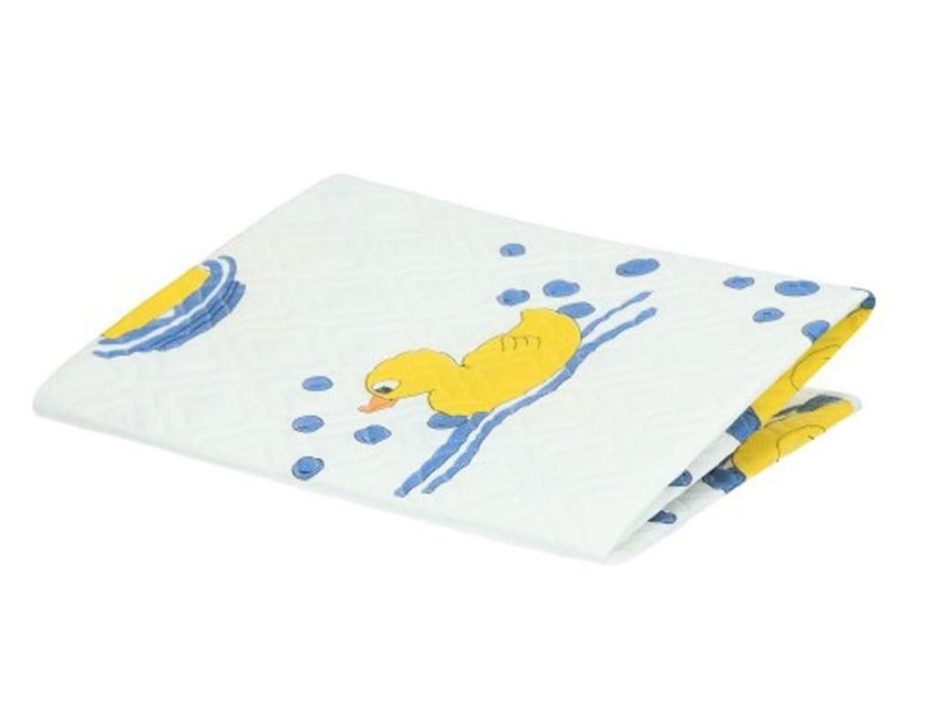 Přebalovací podložka Akuku 55x70 - bílá s kačenkami