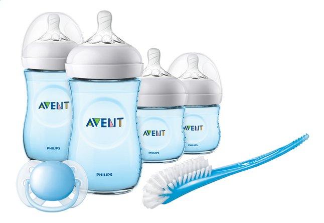 Philips Avent novorozenecká startovní sada Natural - modrá