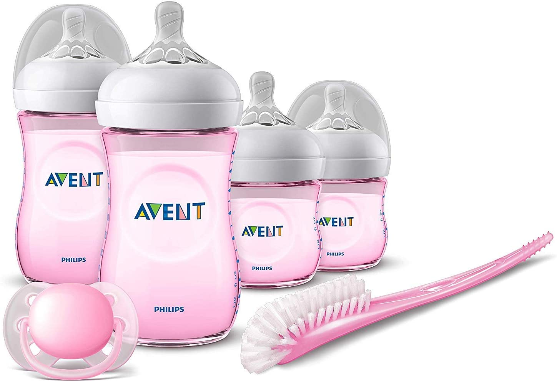 Philips Avent novorozenecká startovní sada Natural - růžová