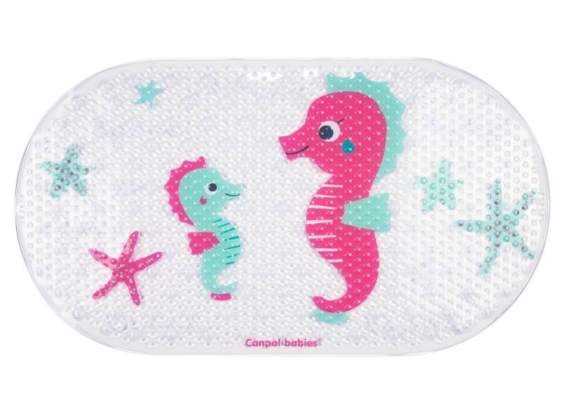 Canpol babies protiskluzová podložka do vany - mořský svět obrázek: mořský koník