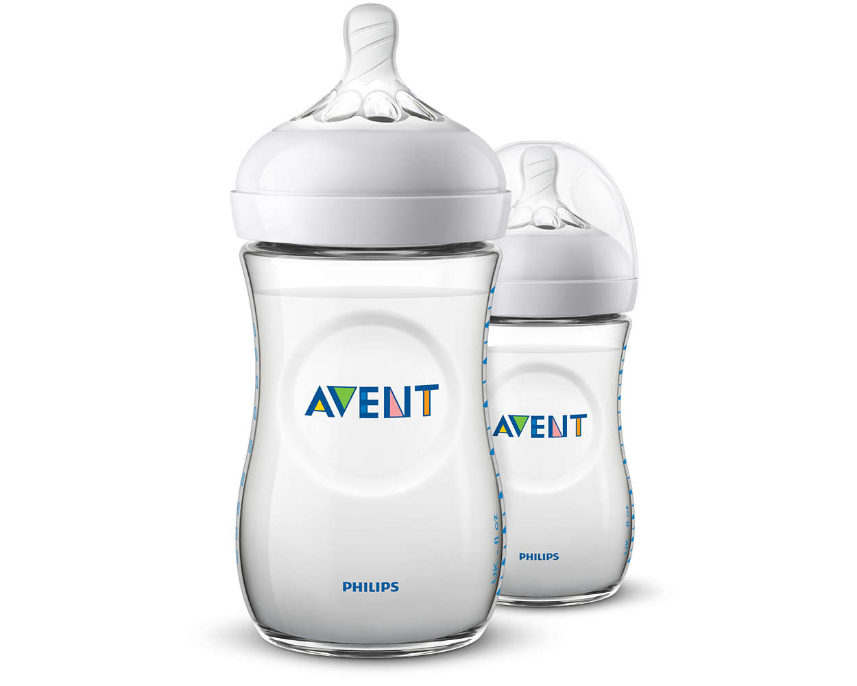 Láhev Avent Natural 260ml, 2ks