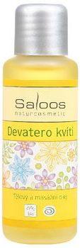 Tělový a masážní olej DEVATERO KVÍTÍ 50ml Saloos