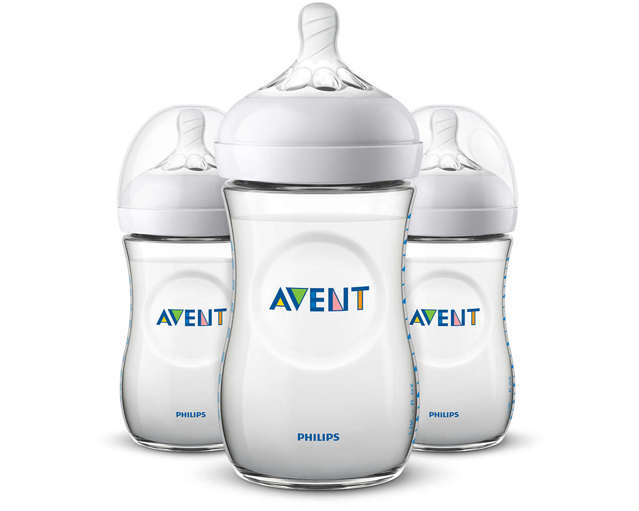 Láhev Avent Natural 260 ml - 3ks
