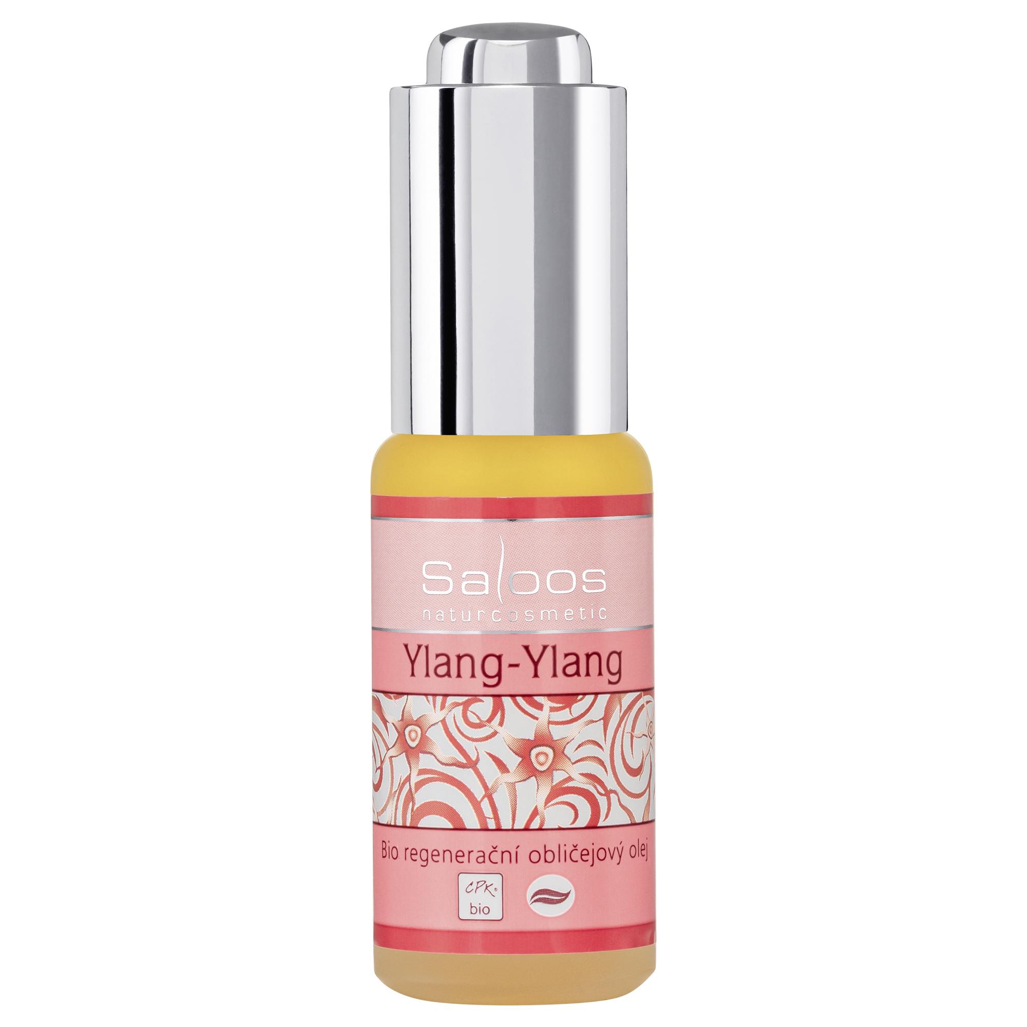 Regenerační obličejový olej YLANG-YLANG 20ml Saloos