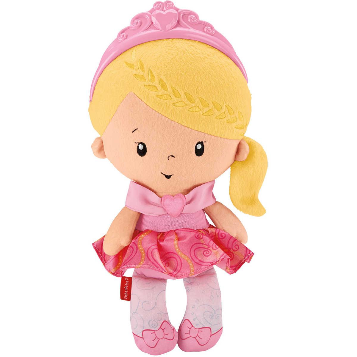 Fisher Price - Moje první panenka princezna
