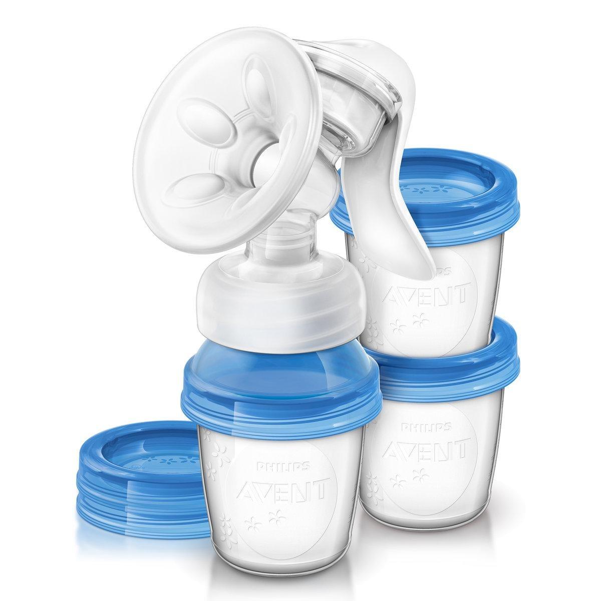 Philips AVENT Manuální odsávačka mateřského mléka s VIA systémem
