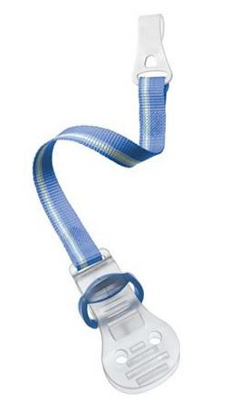 Avent Klip na šidítko - modrý