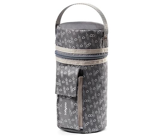 Cestovní ohřívač lahví do auta BabyOno 2v1 barva: šedý