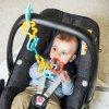 BabyOno plastové kroužky řetěz zvířátka Link 'N' Play (5)