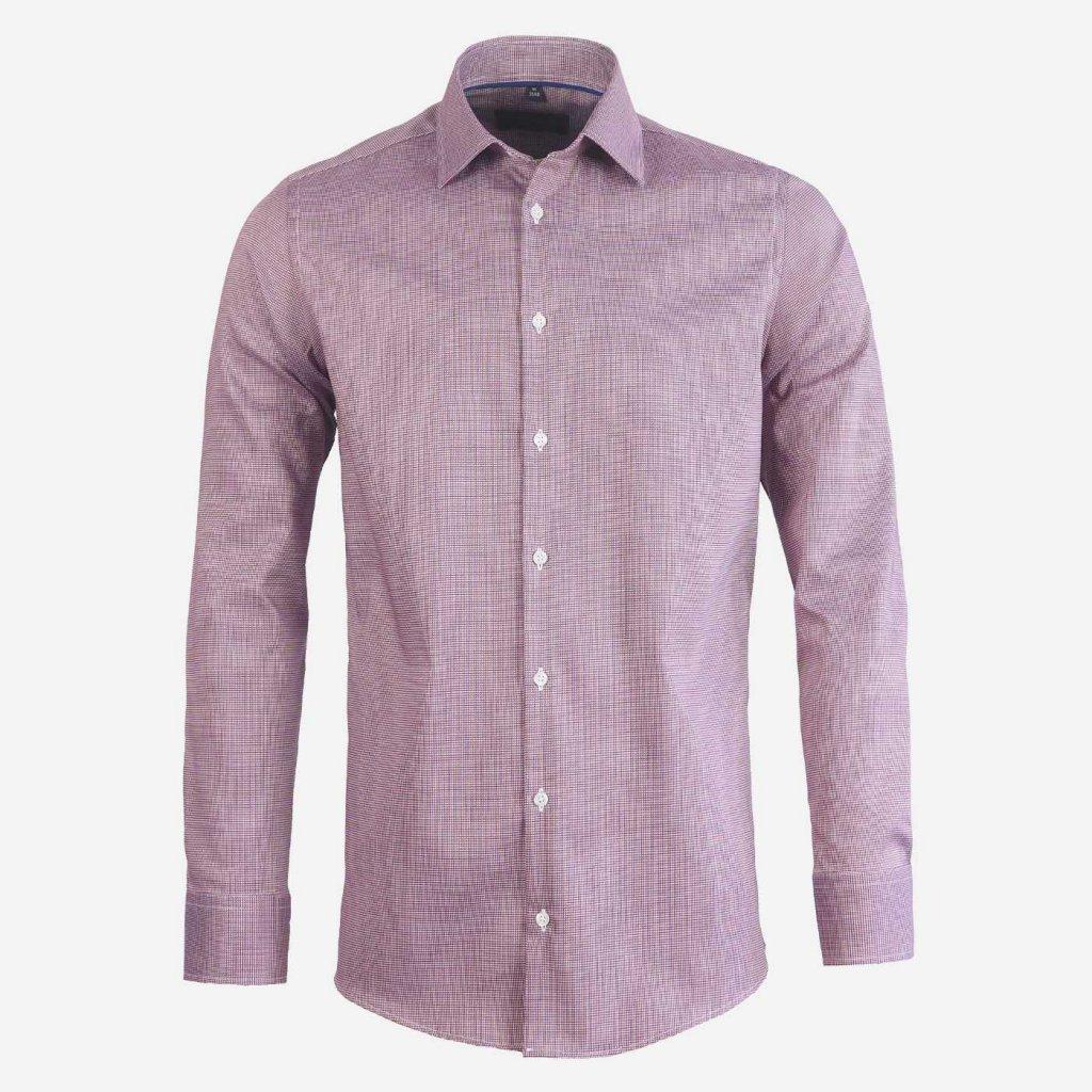 Pánska košeľa so štruktúrou, Slim fit