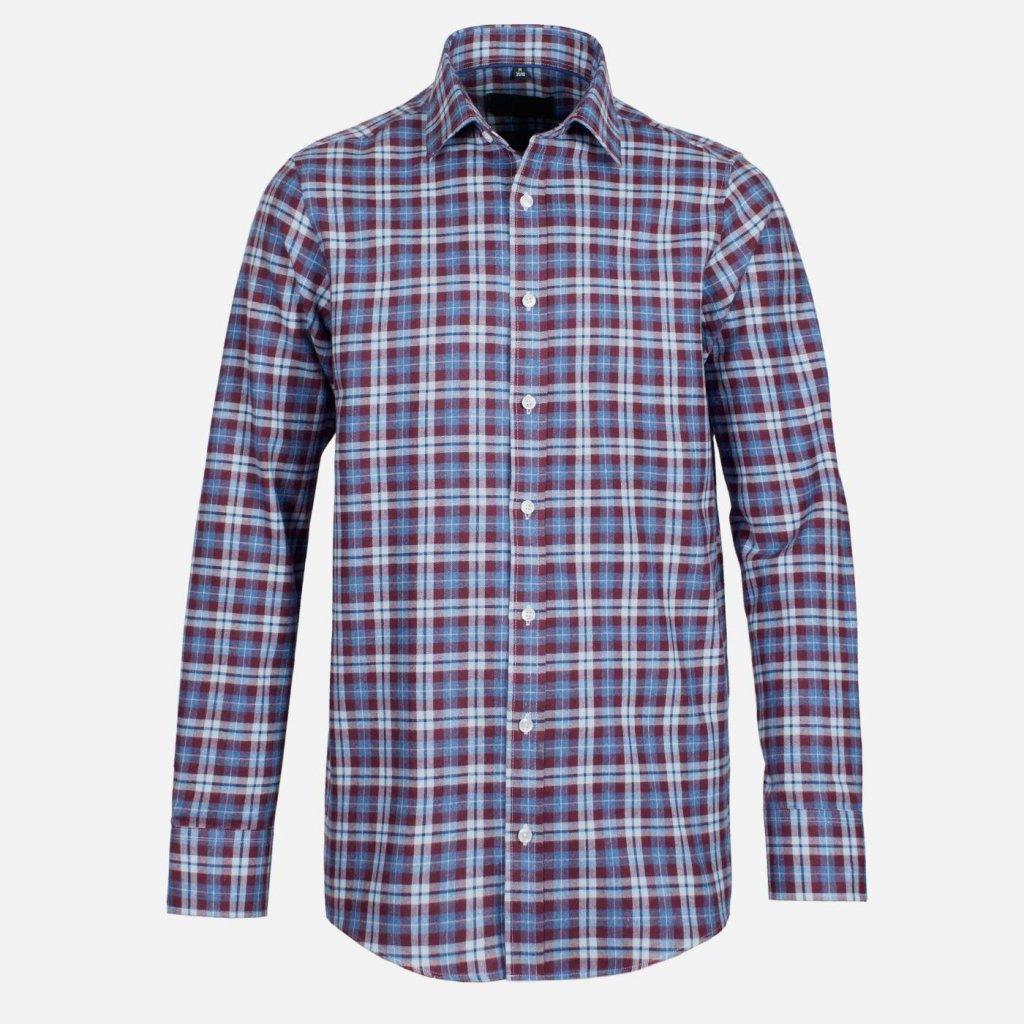 Flanelová pánska košeľa