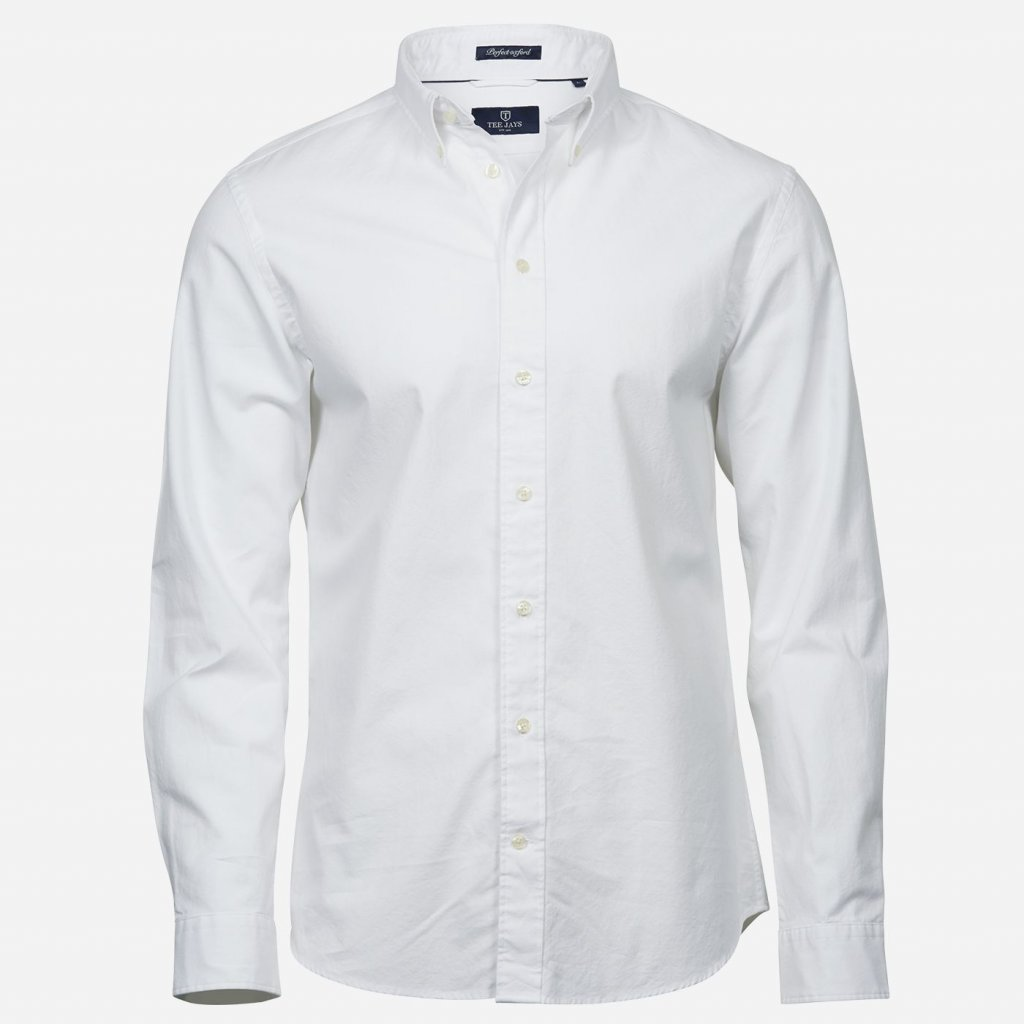Biela oxford košeľa