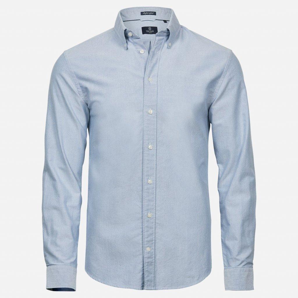Svetlomodrá oxford košeľa