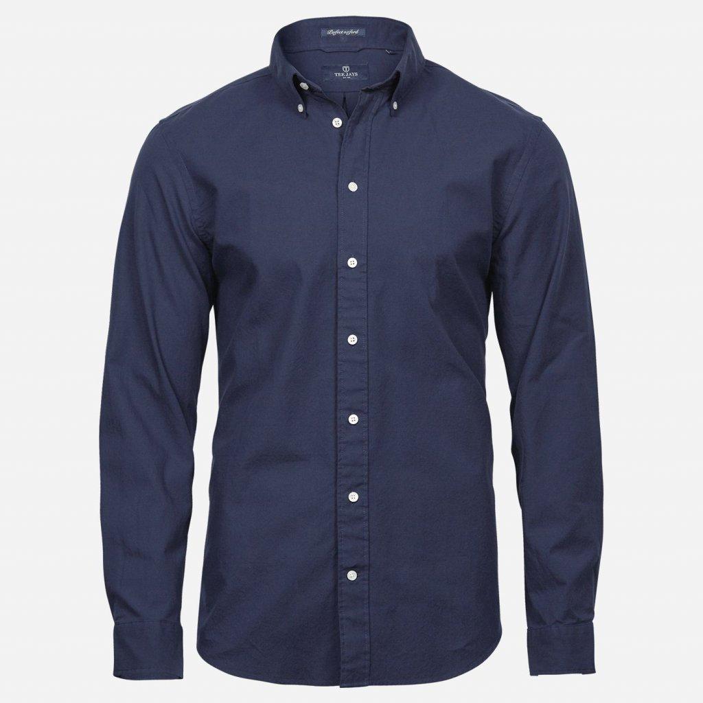 Oxford košeľa modrá