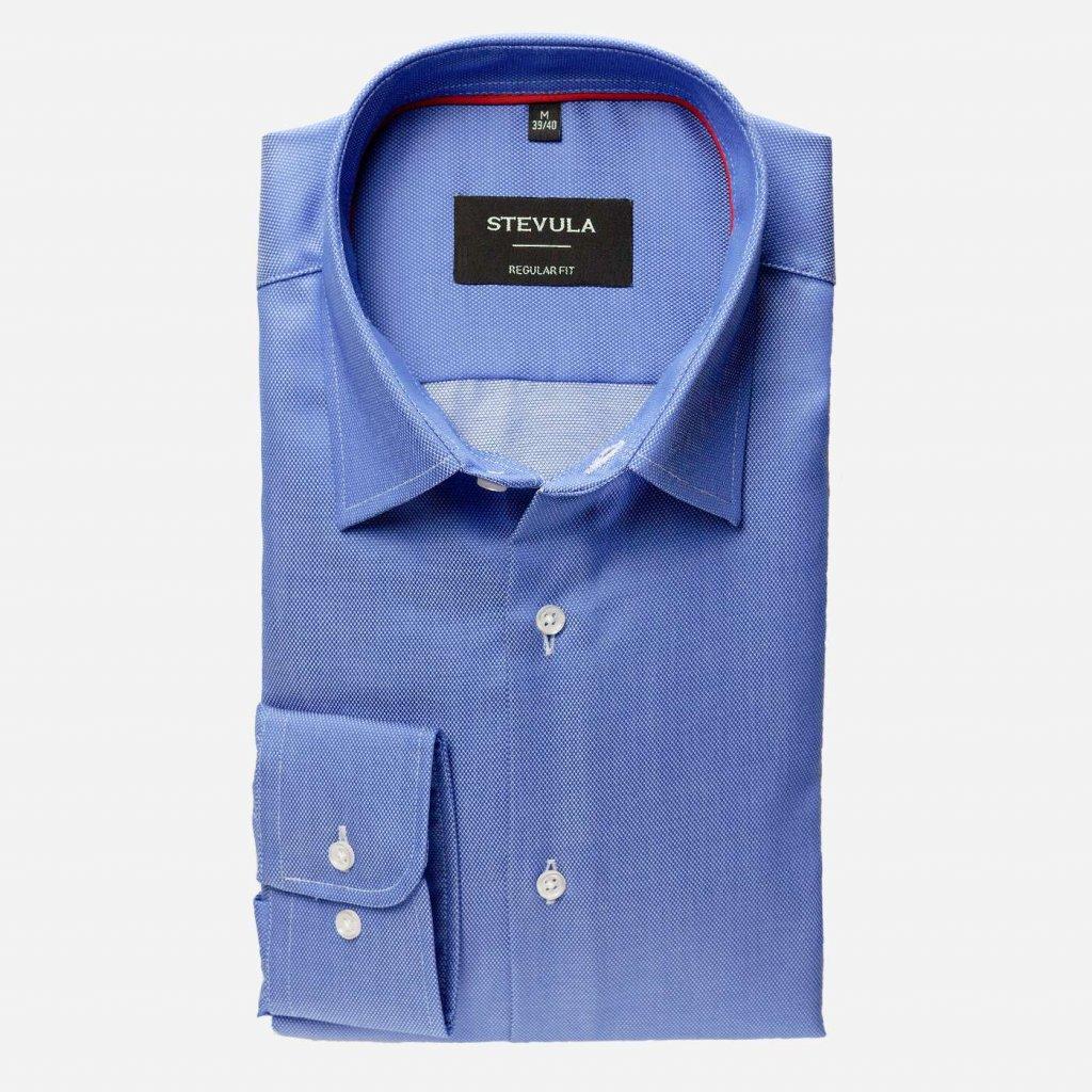 Royal Oxford modrá košeľa, Regular fit