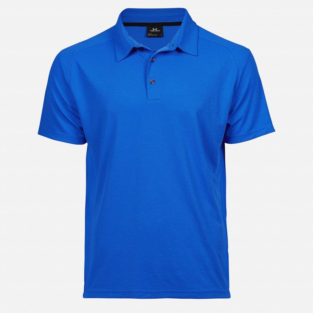 Žiarivo modrá športová košeľa
