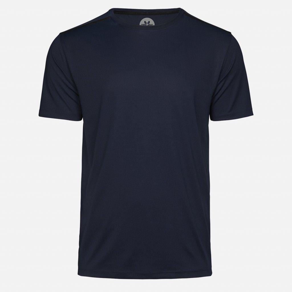 Tmavomodré športové tričko