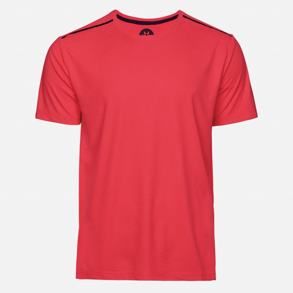 Červené športové tričko