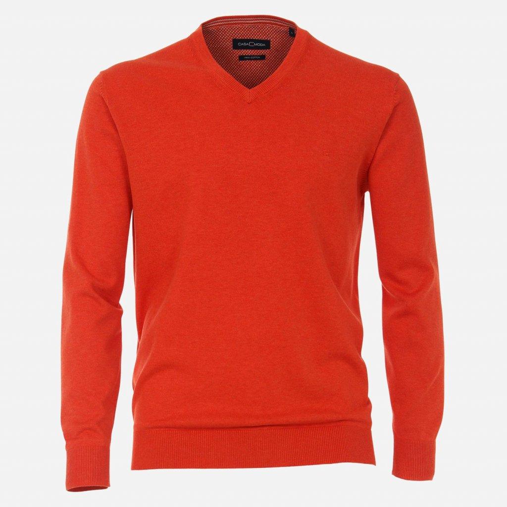 Oranžový sveter