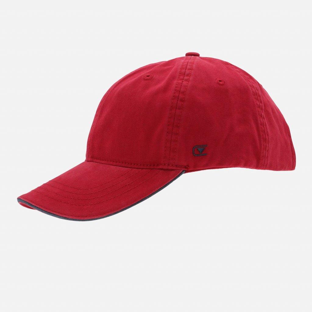 Červená pánska šiltovka CASAMODA