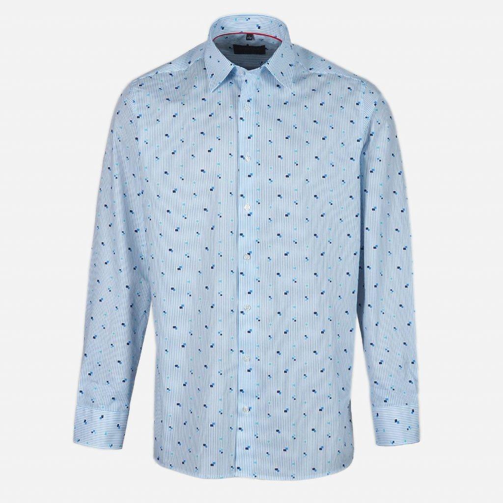 Vzorovaná pánska košeľa, Regular fit