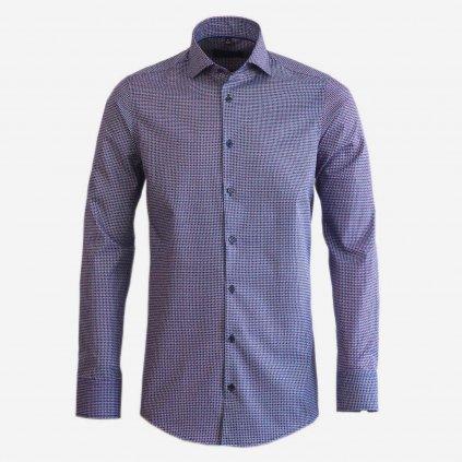Pánska košeľa s mini Packman vzorom, Slim fit