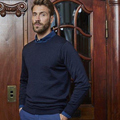 modry merino sveter (2)