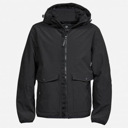Čierna urban adventure bunda