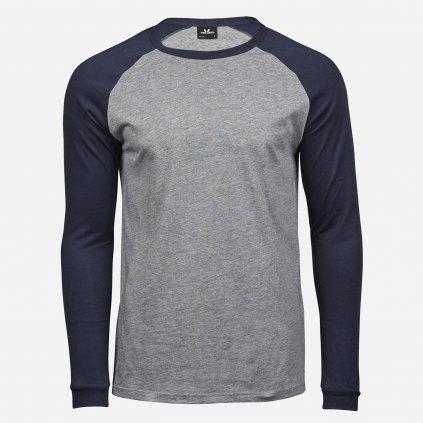 Modro šedé tričko