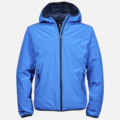 Výrazná modrá bunda