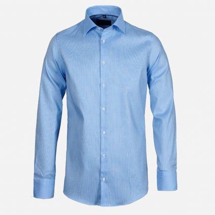 Modrá pánska košeľa