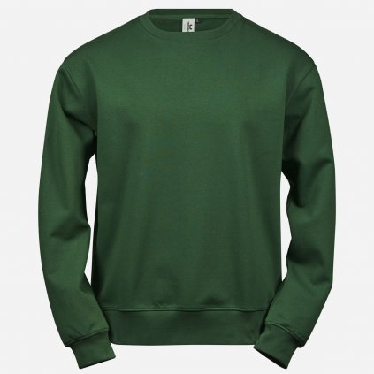 Zelená pánska mikina