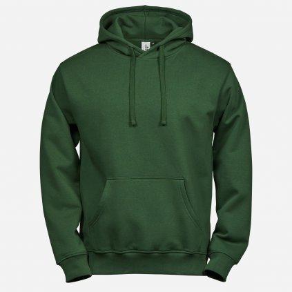 Zelená basic mikina