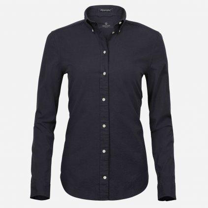 Čierna oxford košeľa