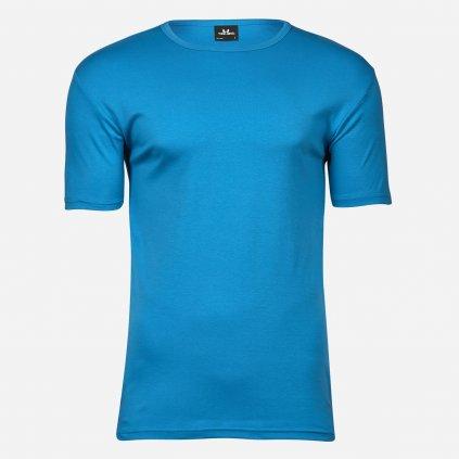 Azúrovo modré tričko