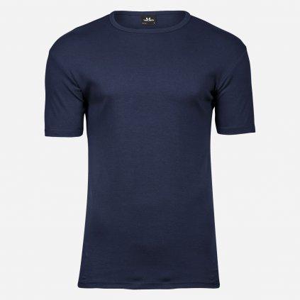 Tmavomodré tričko