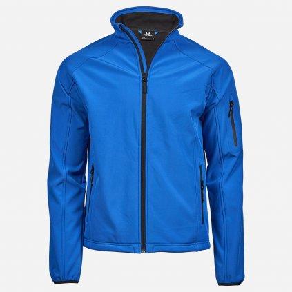 Nebesky modrá softshelová bunda