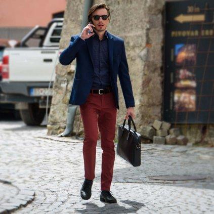 bordove panske nohavice