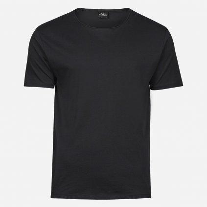 Čierne raw tričko