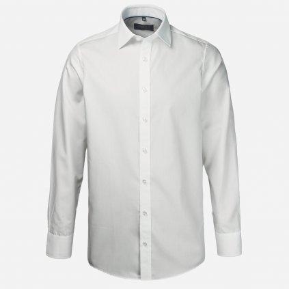 Biela regular fit košeľa